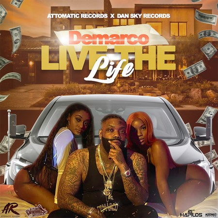 DEMARCO-LIVE-THE-LIFE-COVER DEMARCO - LIVE THE LIFE - ATTOMATIC RECORDS