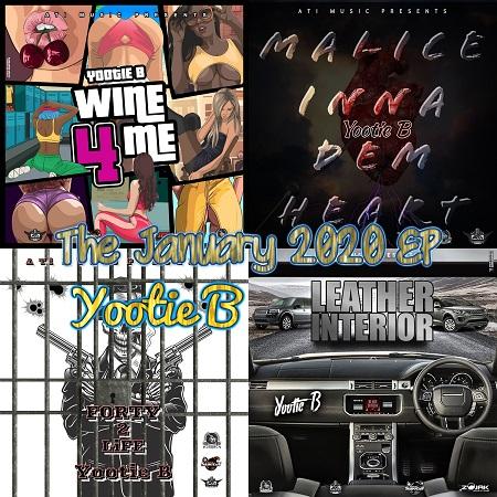 Yootie-B-Jan-2020 YOOTIE B - THE JANUARY 2020 EP - ATI MUSIC