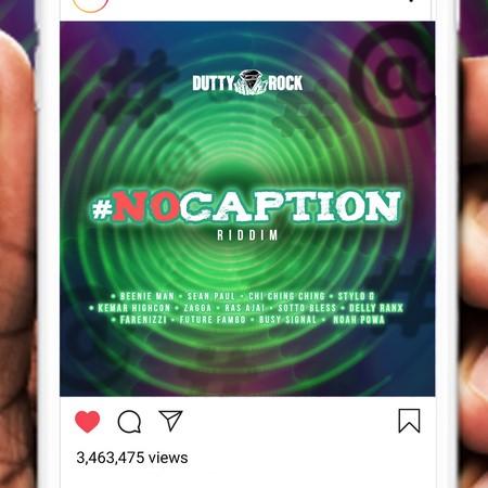 No-Caption-Riddim-Cover NO CAPTION RIDDIM [FULL PROMO] - DUTTY ROCK PROMOTION