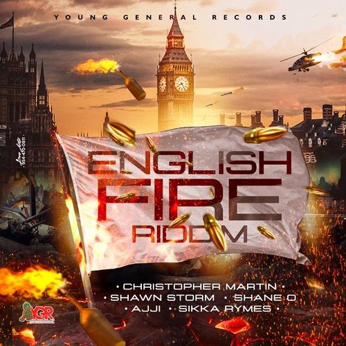 english-fire-riddim-artwork ENGLISH FIRE RIDDIM (FULL PROMO) - YOUNG GENERAL RECORDS